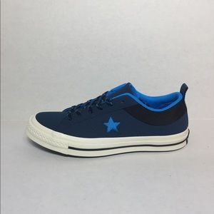 🛍 CONVERSE ONE STAR OX BLUE FIR/BLUE HERO/BLACK